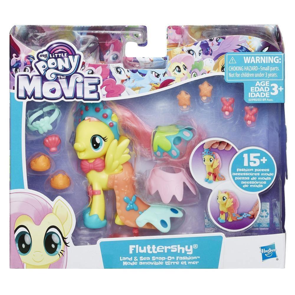 My little Pony Movie Land- u. Seepony Stylingspaß Fluttershy