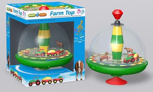 Maro Toys Kreisel Bauernhof