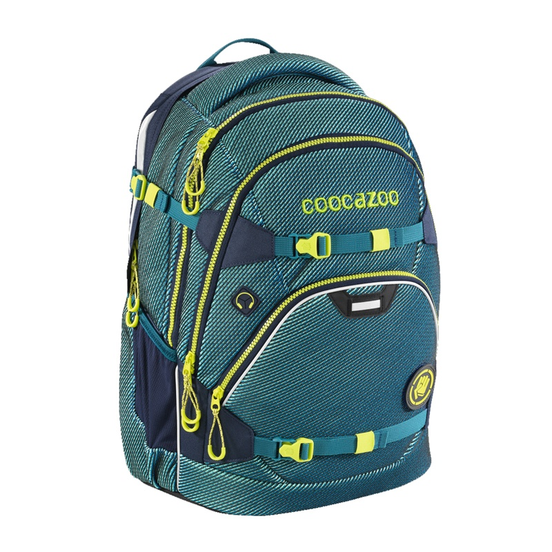 Coocazoo ScaleRale FreakaSneaka Chameleon Blue Rucksack