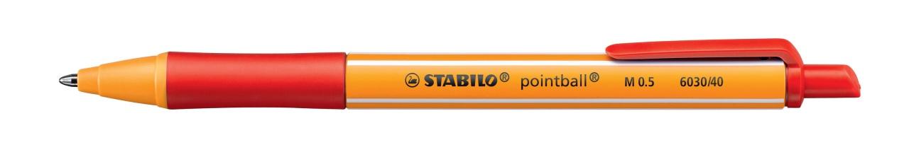 Stabilo Kugelschreiber M 0.5 rot