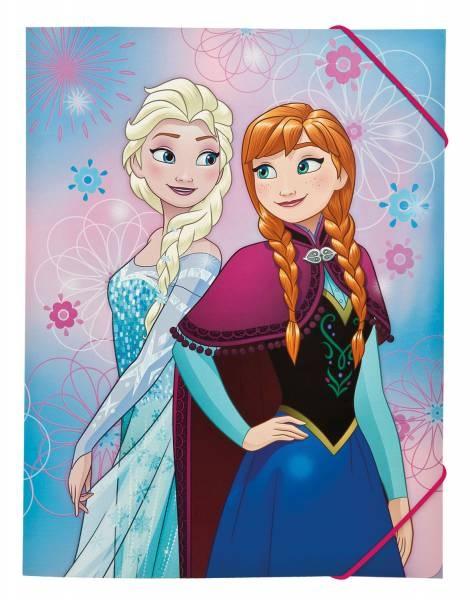 Disney Die Eiskönigin Frozen Gummizugmappe A4 Sammelmappe