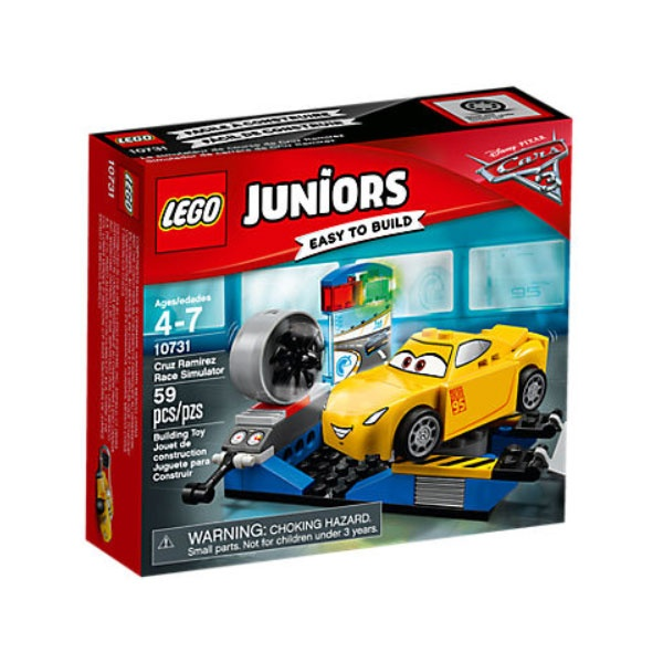 Lego 10731 Juniors Cars Crazy 8 Cruz Ramirez Rennsimulator
