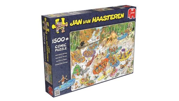 Puzzle Jan van Haasteren Wildwasser-Rafting 1500 Teil