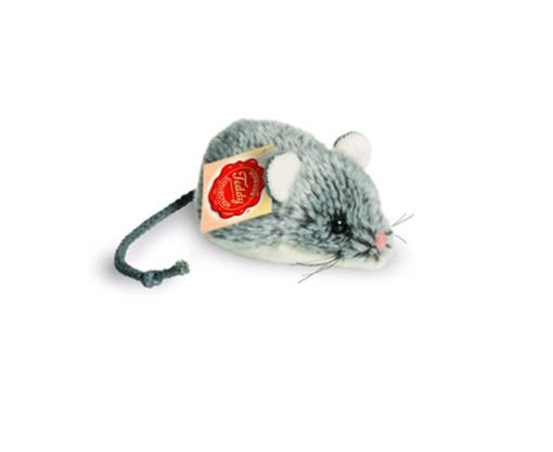 Teddy Hermann Plüschtier Maus grau 10 cm