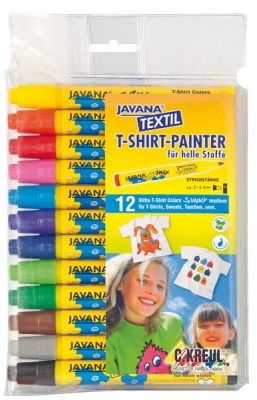 Javana Textil Texi Mäx Stoffmalstifte 12 Stück