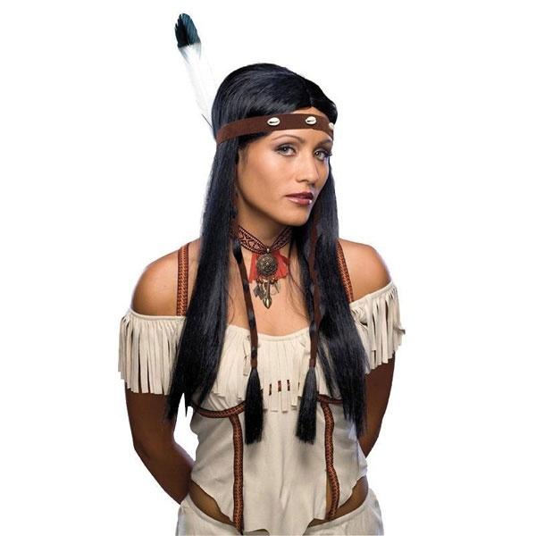 Kostüm-Zubehör Perücke Indianerin