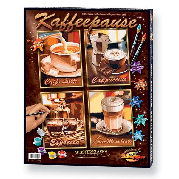 Schipper Malen nach Zahlen Kaffeepause (Quattro)