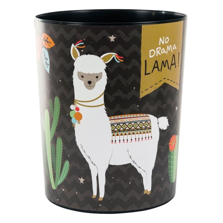 Goldbuch Papierkorb Happylife Lama