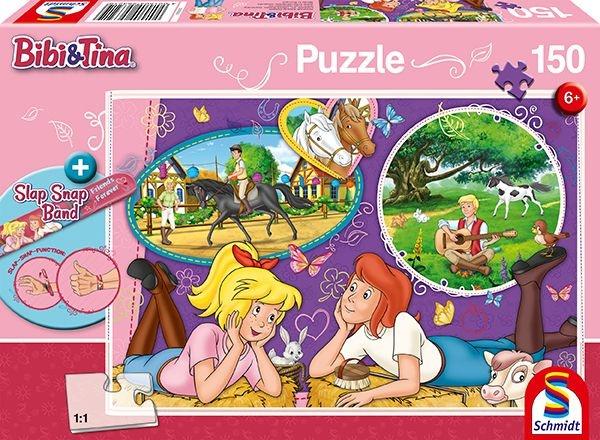 Schmidt Spiele Puzzle Bibi und Tina  Freundinnen für immer