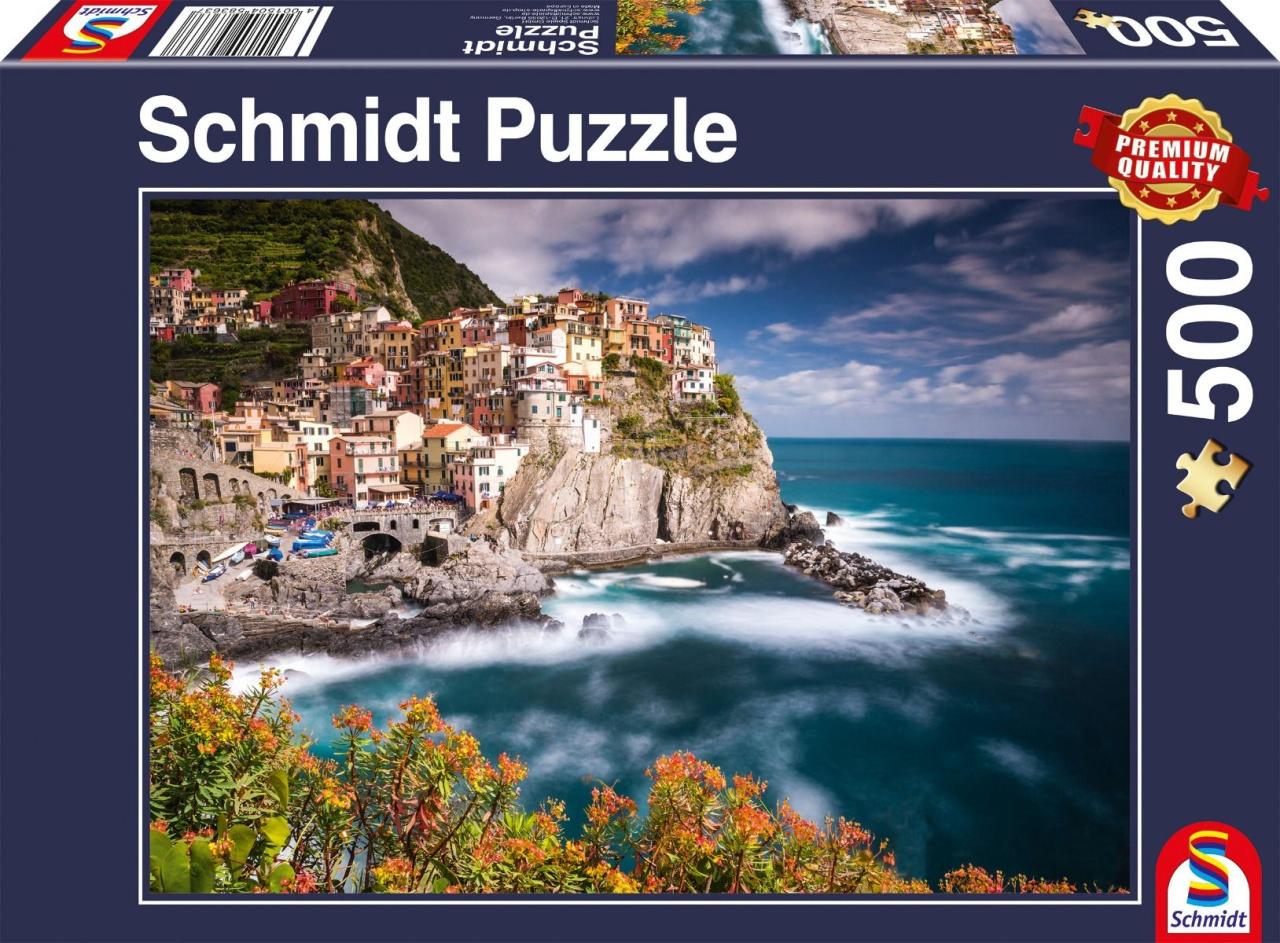 Schmidt Spiele Puzzle Manorola Cinque Terre Italien 500