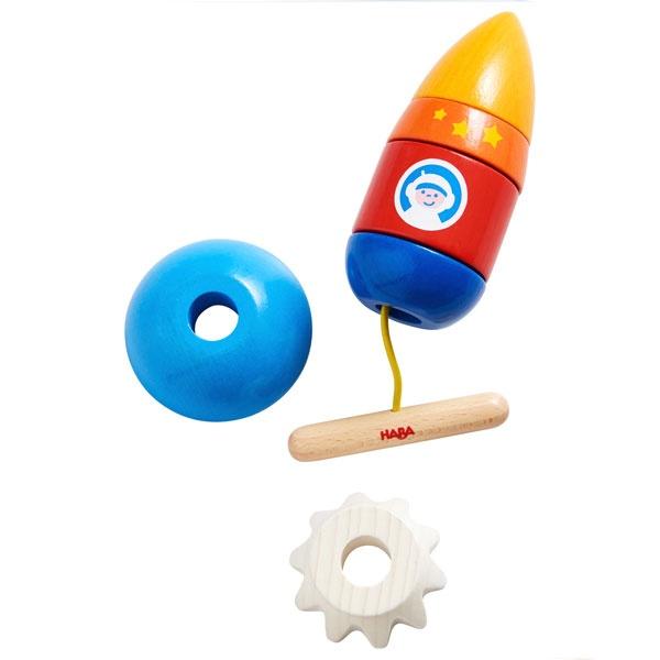 Haba Fädelspiel Rakete