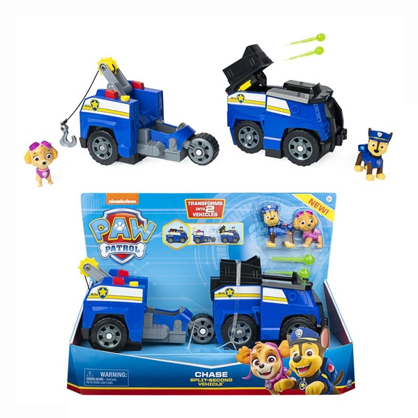 Paw Patrol Chase Split-Second Vehicle