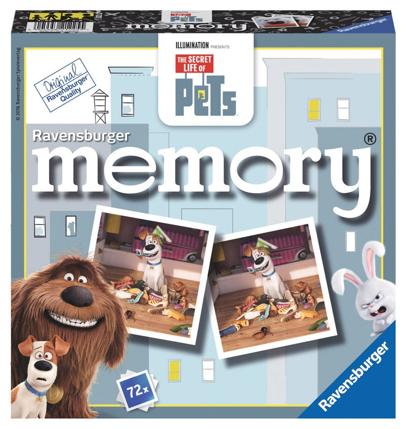 Ravensburger The Secret Life of Pets memory