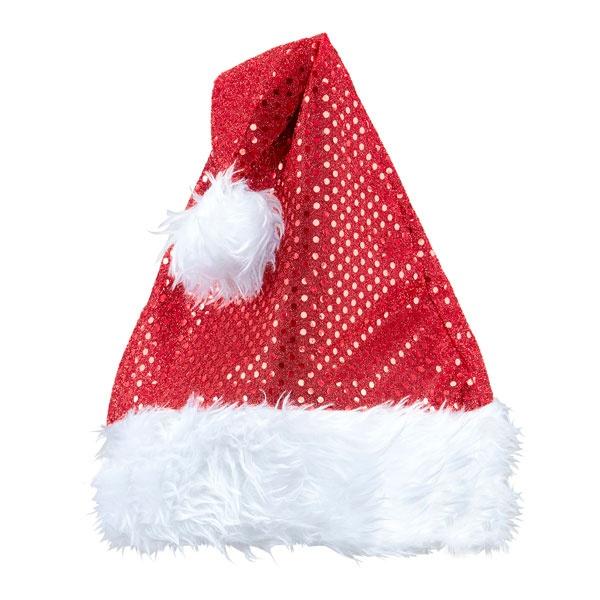 Kostüm-Zubehör Weihnachtsmannmütze Nikolausmütze