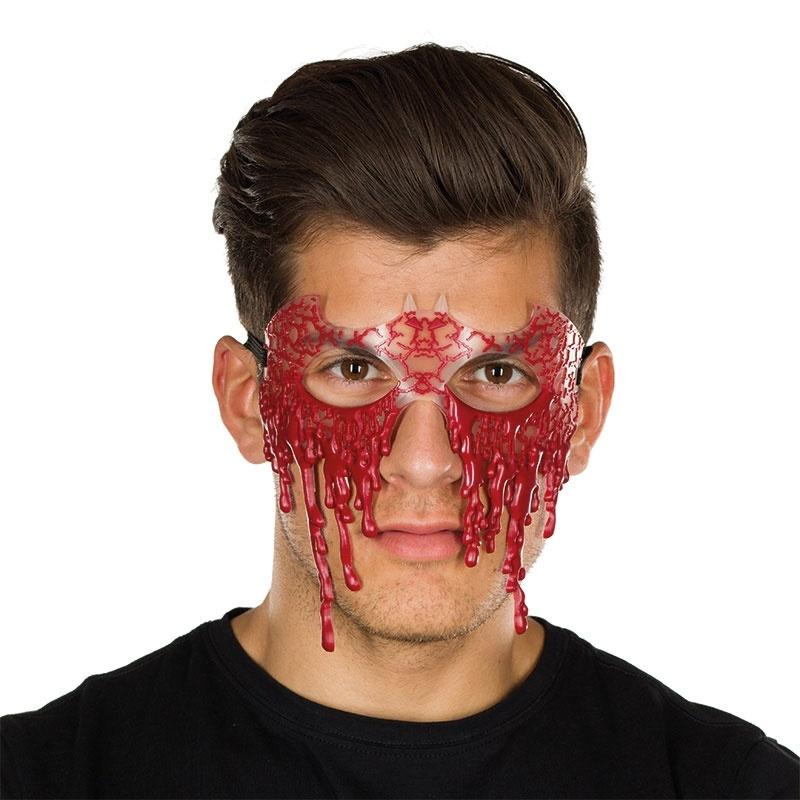 Blutige Maske
