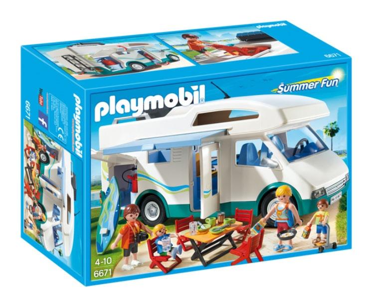 Playmobil 6671 Family Fun Familien-Wohnmobil