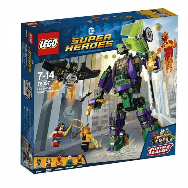 Lego Super Heroes 76097 Lex Luthor Mech
