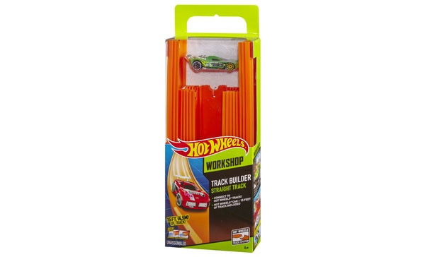 Hot Wheels Track Builder Auto und Schienen Pack