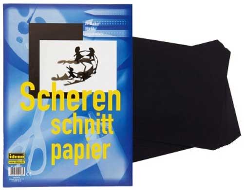Scherenschnittpapier A4