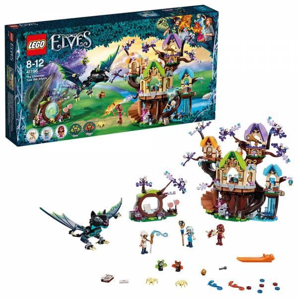 Lego Elves 41196 Fledermaus-Angriff auf den Elfen-Sternbaum