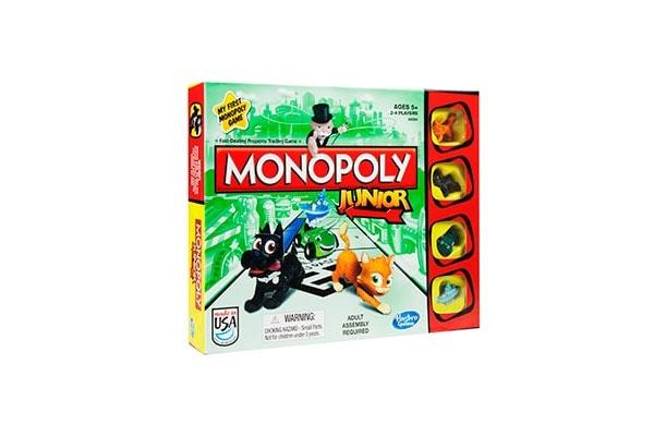 Monopoly Junior Kinderspiel von Hasbro