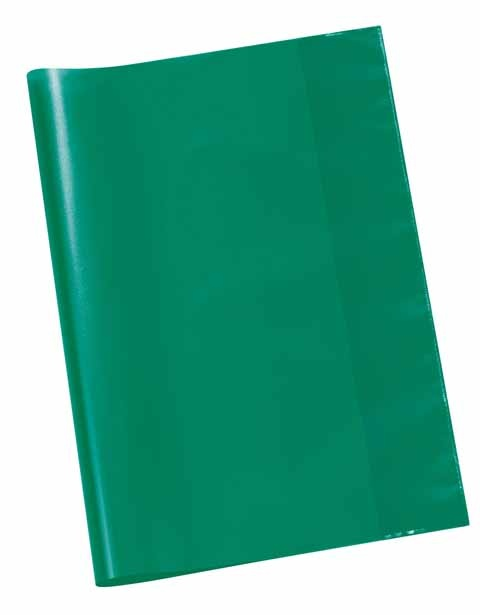 Hefthülle A4 transparent grün
