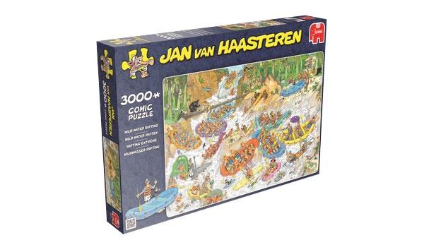 Puzzle Jan van Haasteren Wildwasser-Rafting - 3000 Teile