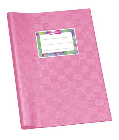 Hefthülle A5 rosa gedeckt