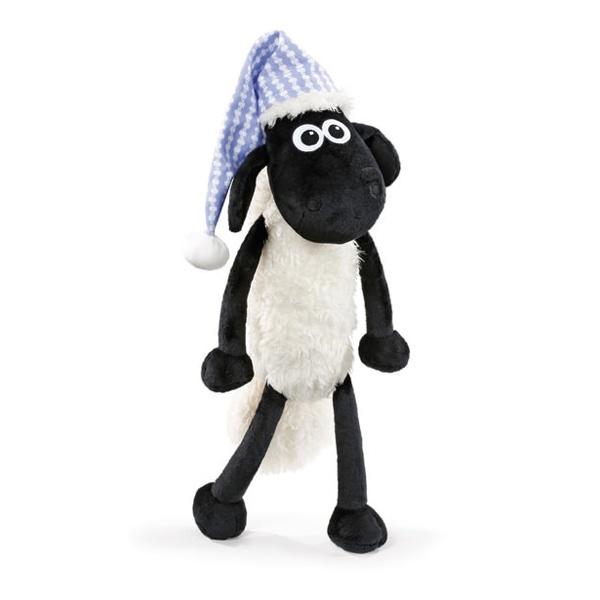 Nici Shaun das Schaf mit Schlafmütze 35cm