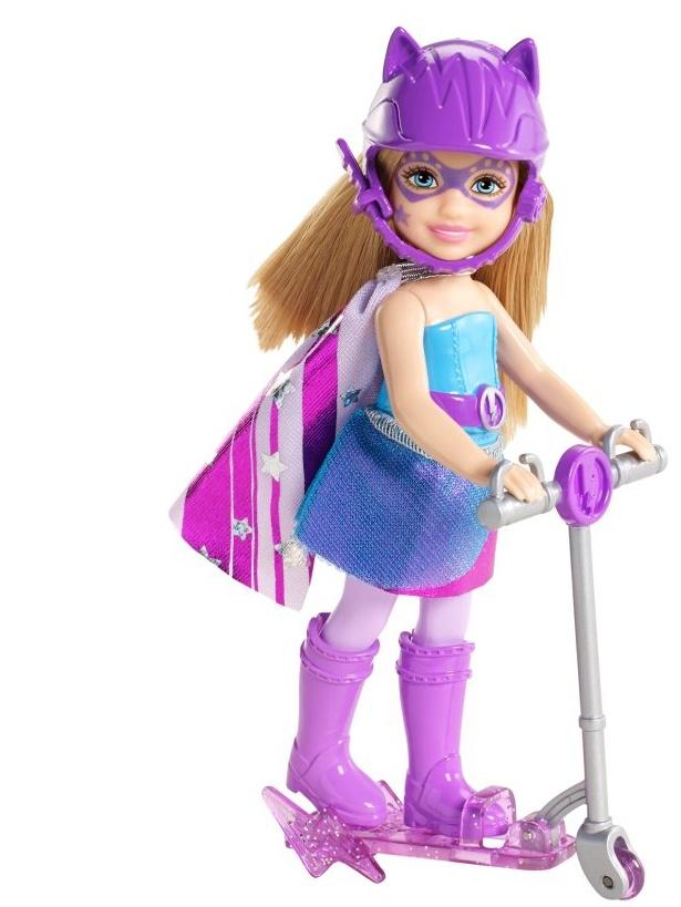 Mattel Barbie Super Freundin Chelsea mit Roller