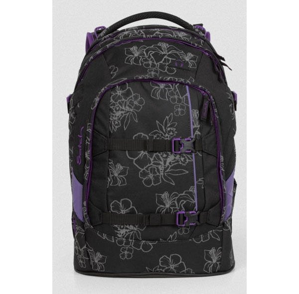 Ergobag Satch Pack Schulrucksack Ninja Hibiscus