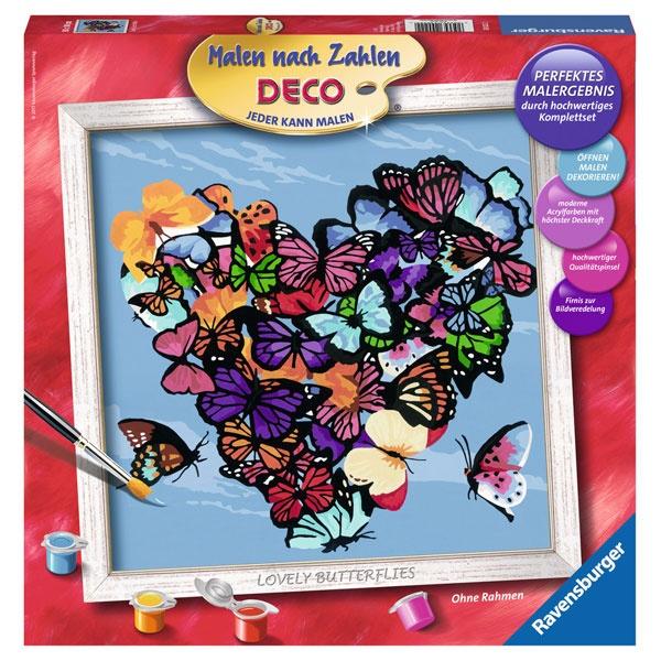 Ravensburger Malen nach Zahlen Lovely Butterflies