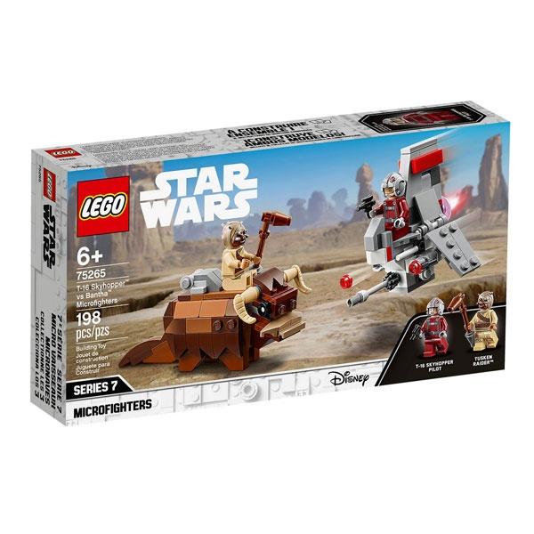 Lego Star Wars 75265 T-16 Skyhopper vs Bantha Microfighters
