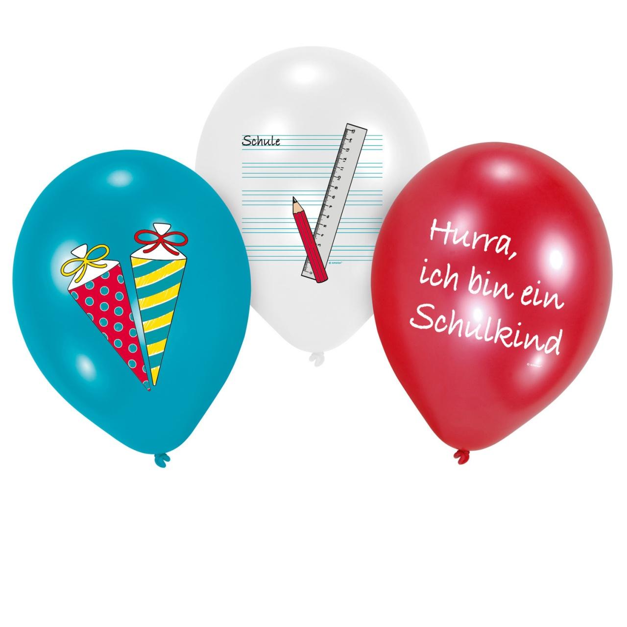 Latexballons Luftballon Mein Schulstart