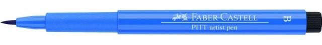 Faber Castell Pitt artist pen cobalt blue 143