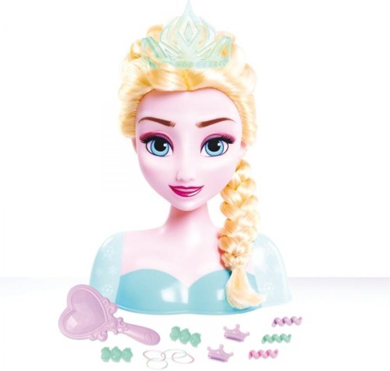 Disney Die Eiskönigin Frisierkopf Stylingkopf Elsa