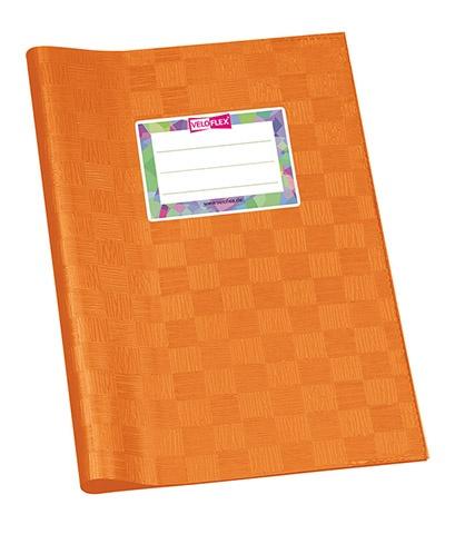Hefthülle A5 orange gedeckt
