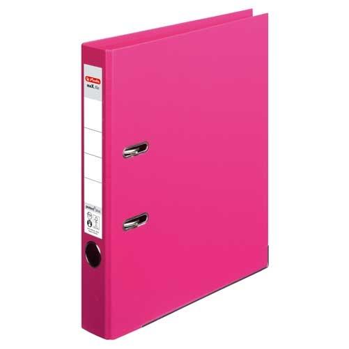 Ordner A4 max.file protect pink 5 cm von Herlitz