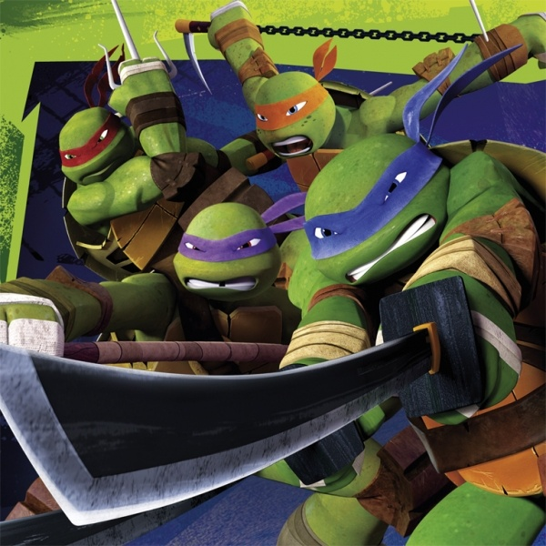 Servietten Ninja Turtles