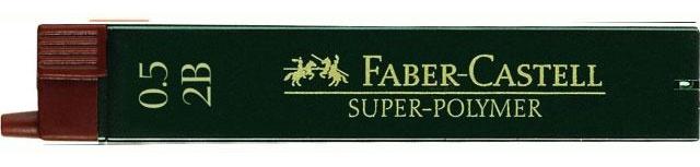 Faber Castell Feinmine Super-Polymer 0,5mm 2B