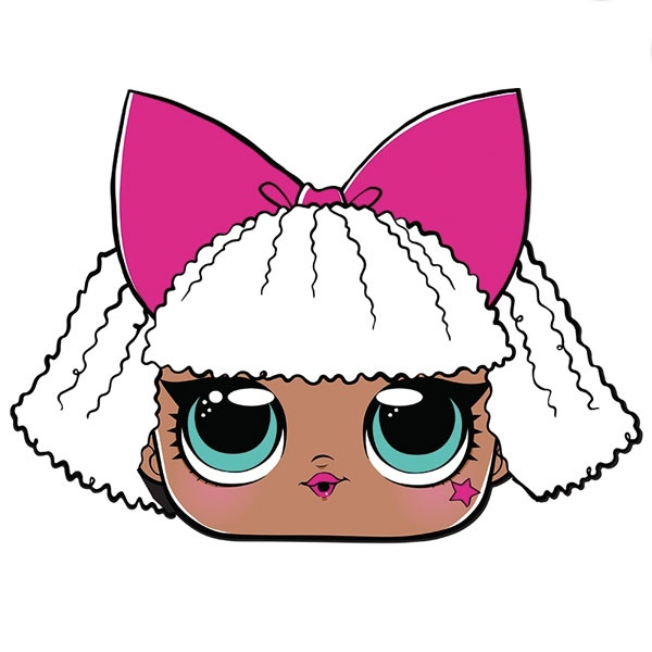 Kostüm LOL Maske Diva