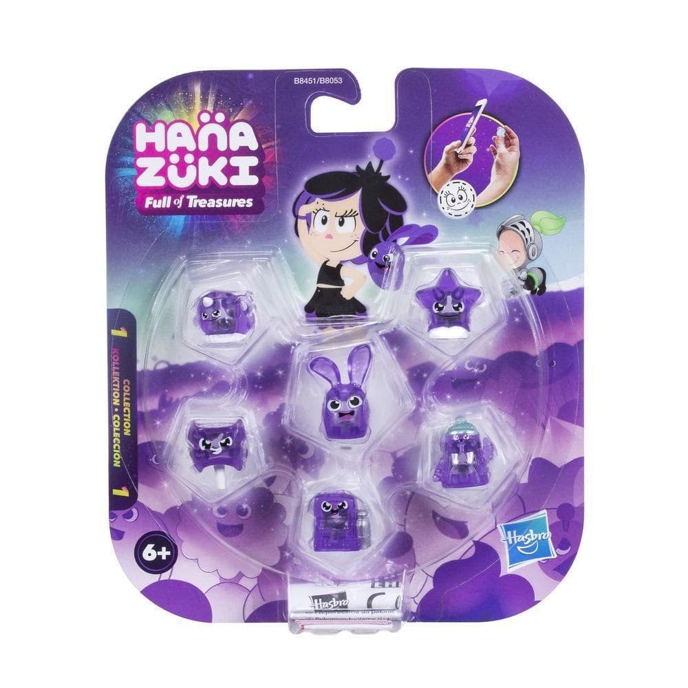 Hanazuki Sammelschätze 6er-Pack lila