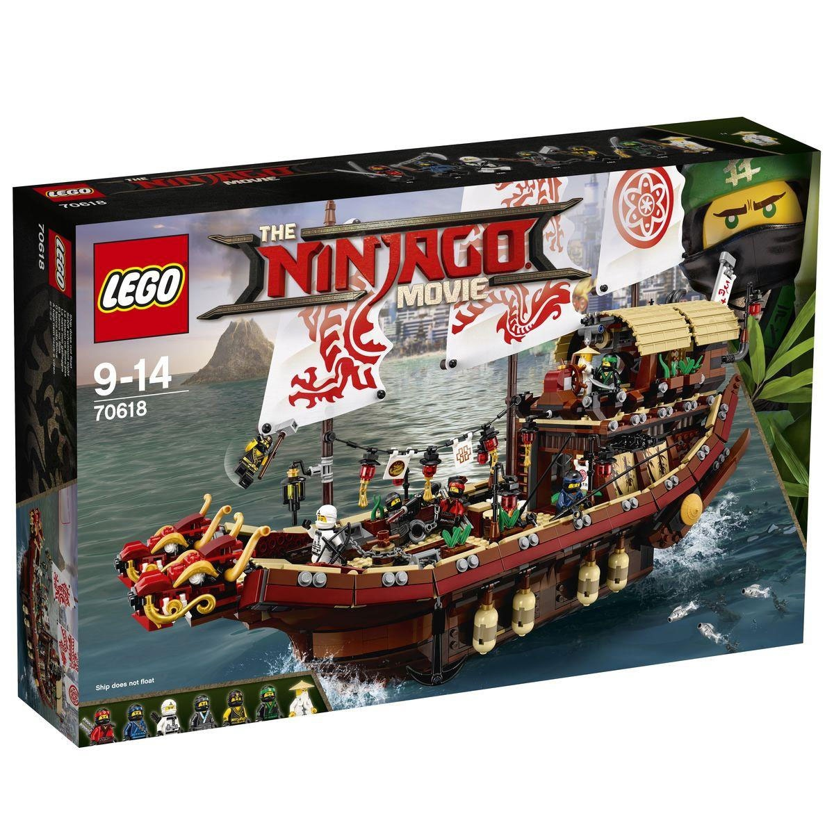 Lego Ninjago Movie 70618 Ninja-Flugsegler
