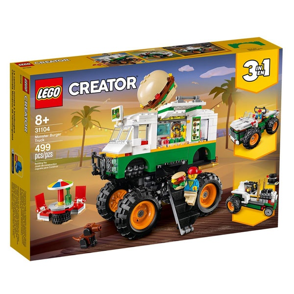 Lego Creator 31104 Burger-Monster-Truck