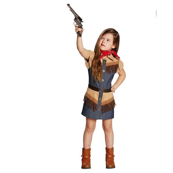 Kostüm Cowboy Girl 164