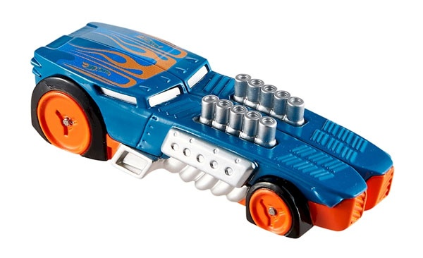 Hot Wheels Split Speeders Chopped Rod blau