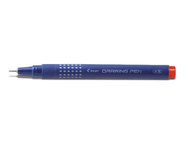 Pilot Fineliner Drawing Pen 01 rot