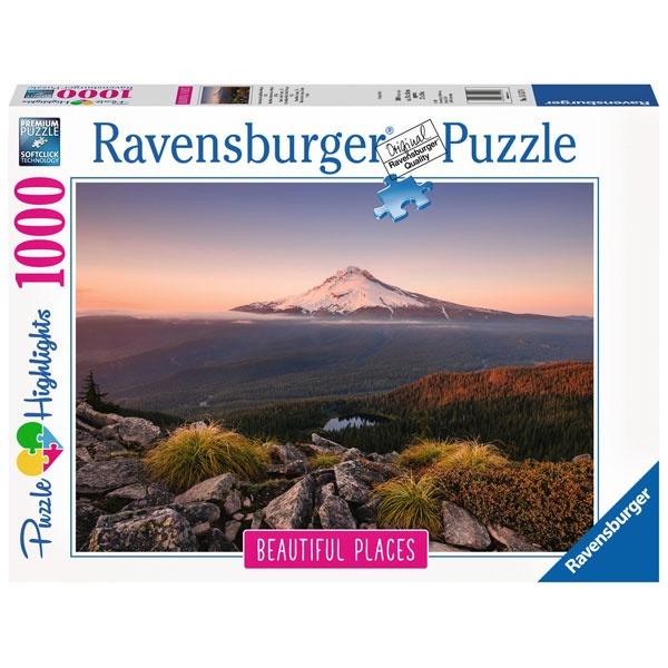 Puzzle Stratovulkan Mount Hood in Oregon, USA 1000 Teile