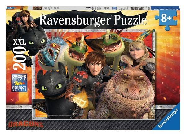 Ravensburger Puzzle Dragons Hicks, Astrid und die Drachen