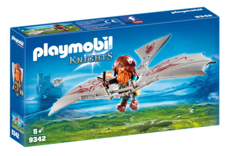 Playmobil 9342 Knights Zwergenflugmaschine